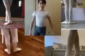 Il Covid non ferma la danza: ecco come si allena online una ballerina