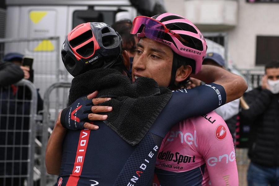 Giro d'Italia, trionfa il colombiano Bernal