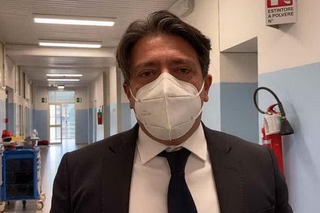 Inaugurato Covid hospital al Binaghi, le parole di Massimo Temussi