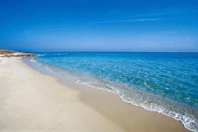 La spiaggia di Foxi 'e Sali (Archivio L'Unione Sarda)