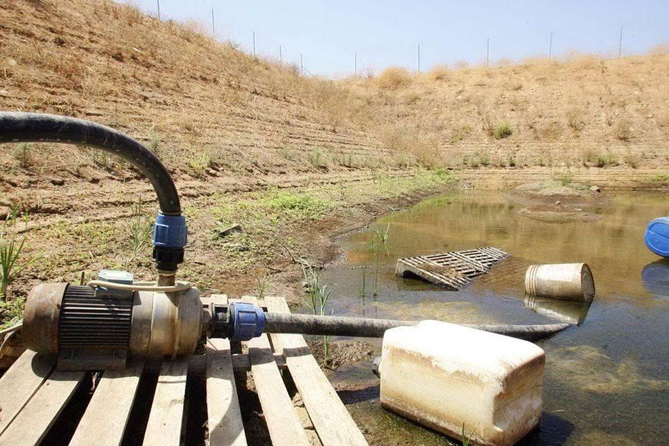 Poca acqua per i campi
