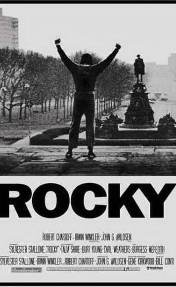 La locandina del film, di cui Stallone è attore protagonista e sceneggiatore