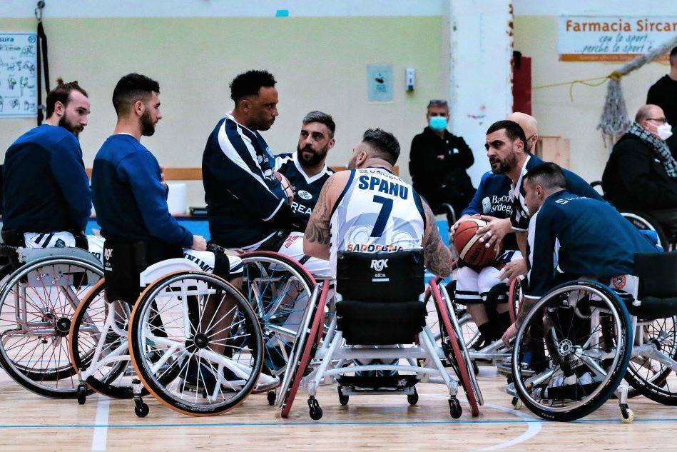 Basket in carrozzina: la Dinamo Lab conquista il primo successo, 65-55 sul Padova