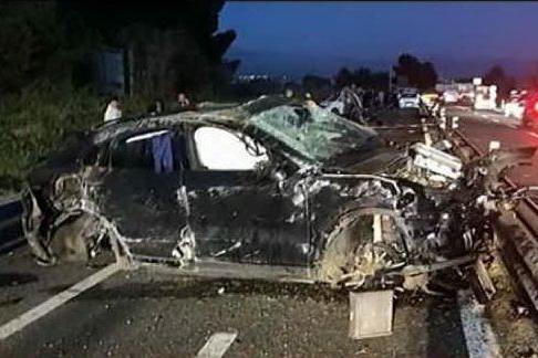 """Incidente sulla 554, Cossu in condizioni stabili: """"Forza Andrea"""""""