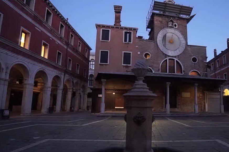 Venezia, 1600 anni fa posata la prima pietra a San Giacomo di Rialto