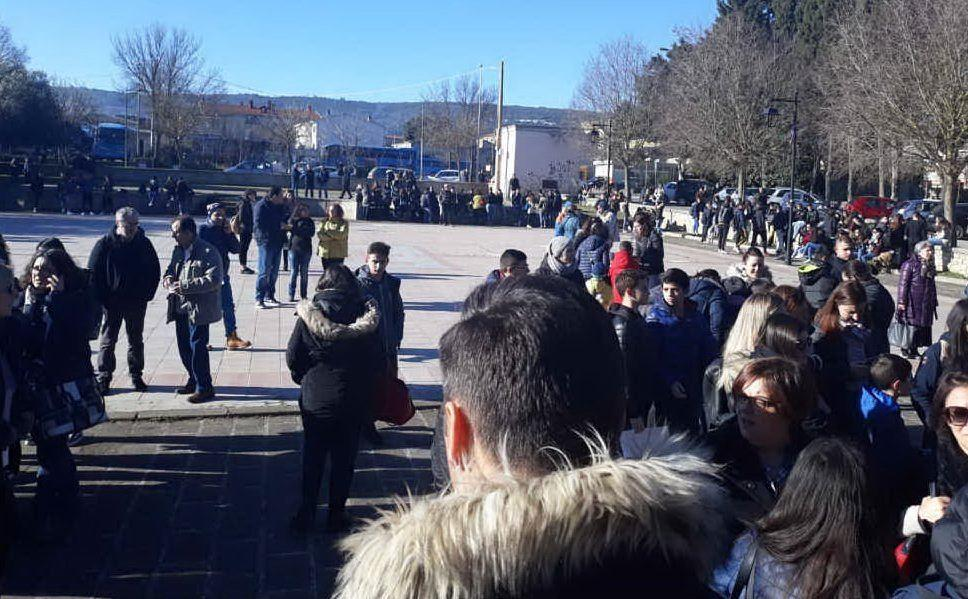 La manifestazione a Isili (foto Sonia Gioia)