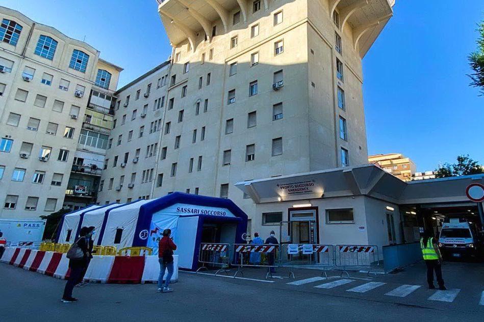 L'ospedale Santissima Annunziata di Sassari (Archivio L'Unione Sarda)