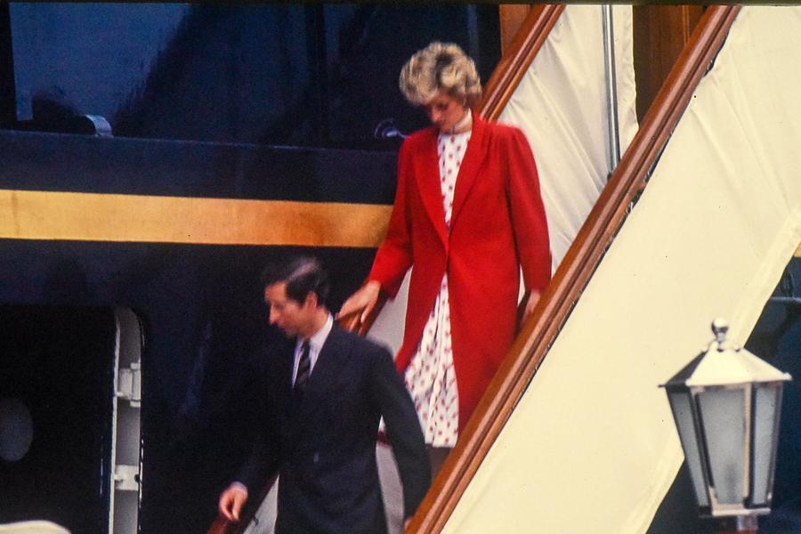 Carlo e Diana a\u00A0Olbia (foto concessa Davide Caglio)