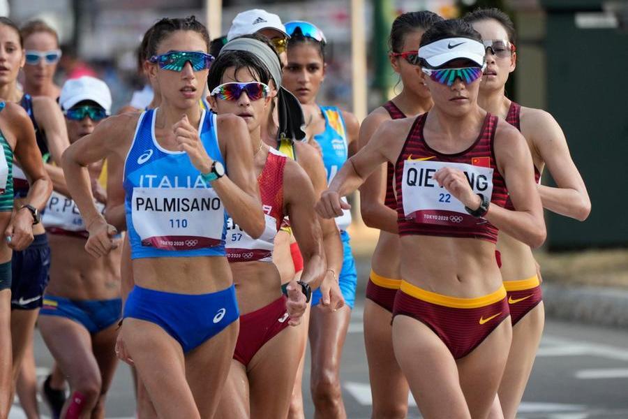 Tokyo 2020, Palmisano oro nella marcia 20 km femminile