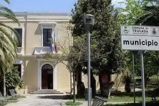 Il Comune di Teulada (foto Murgana)