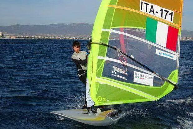 Windsurf, medaglia di bronzo per Carlo Ciabatti al campionato italiano