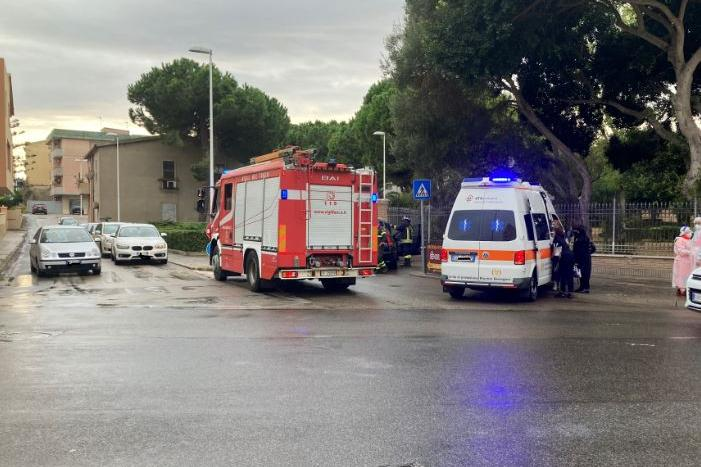 Porto Torres, scontro vicino al parco San Gavino: ferita una donna