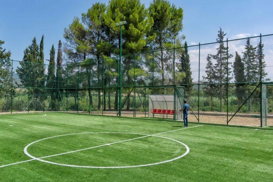Villaurbana, terminati i lavori sul campo di calcio a 5