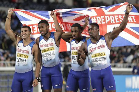 Confermata la positività di Cj Ujah, la Gran Bretagna perde l'argento olimpico della 4X100