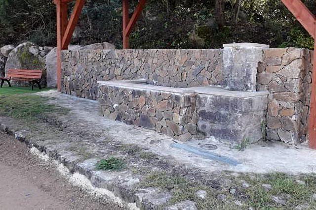 Erula, conclusi i lavori nella fontana di Cannalza