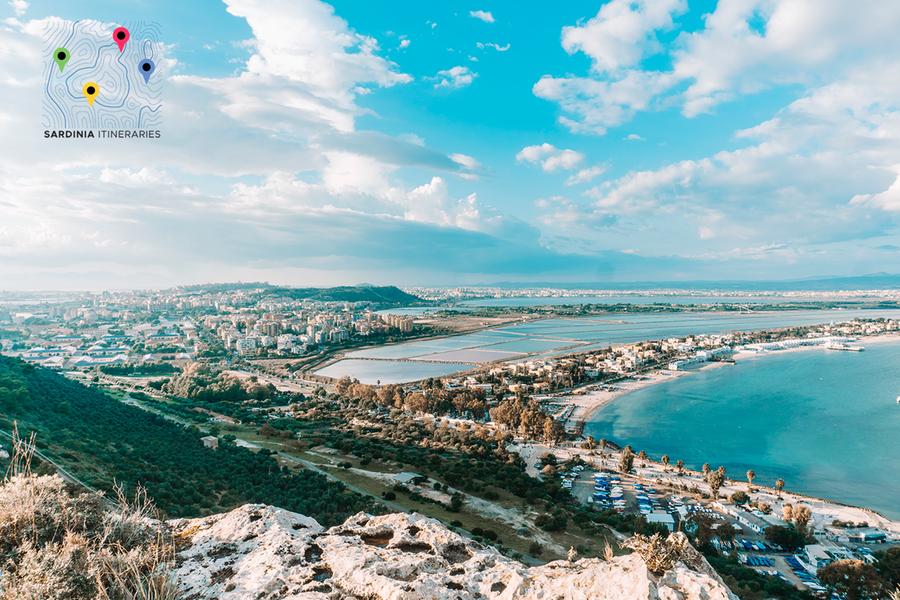 Una vista di Cagliari (Foto Sardinia Itineraries)