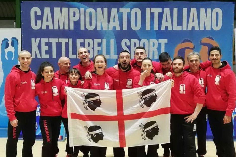 Kettlebell: trionfo degli atleti sardi ai Campionati nazionali
