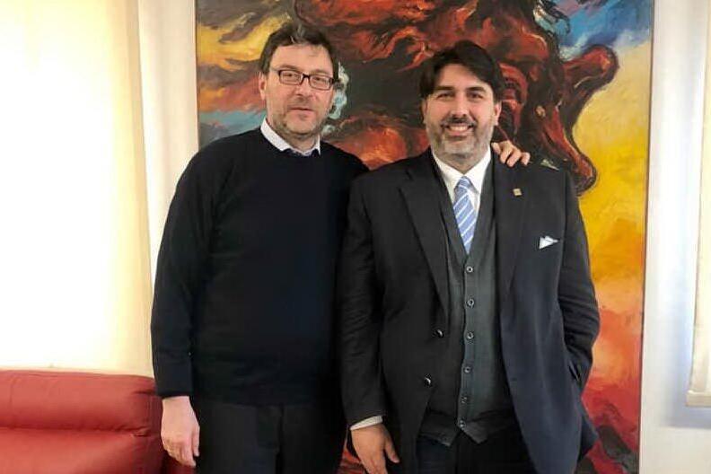 """Air Italy, Solinas vede Giorgetti: """"Tutelare i lavoratori come quelli di Alitalia"""""""