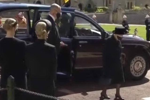 Regno Unito: la solitudine di Elisabetta ai funerali di Filippo