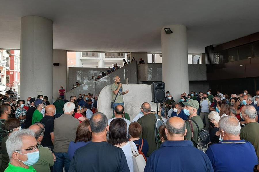 Forestas: accordo bocciato dalla Corte dei Conti, lavoratori in piazza chiedono una soluzione