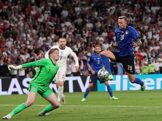 Italia-Inghilterra: si gioca la finale degli Europei. 1-1, segnano Bonucci e Shaw. Vincono gli azzurri ai rigori