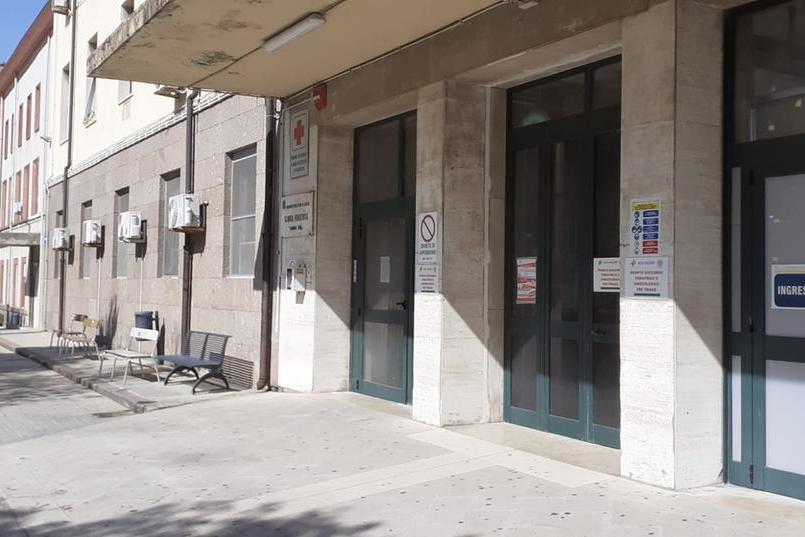 L'ospedale San Pietro (Foto Tellini)