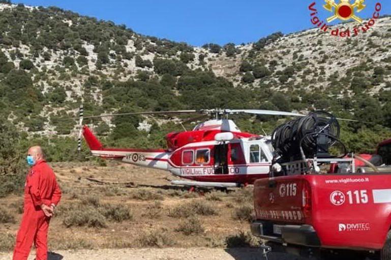 Escursionista in difficoltà a Urzulei: individuato e soccorso