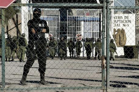 Messico,sparatoria in un carcere:tre morti e un ferito grave