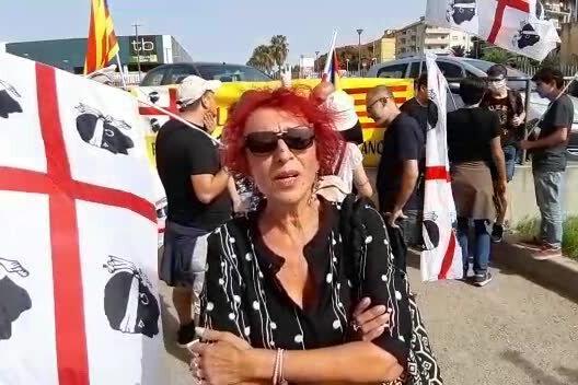 Sassari, clima elettrico presso la Corte di Appello di Sassari in attesa della decisione dei giudici su Puidgemont. Indipendentismo sardo in ebollizione. Video