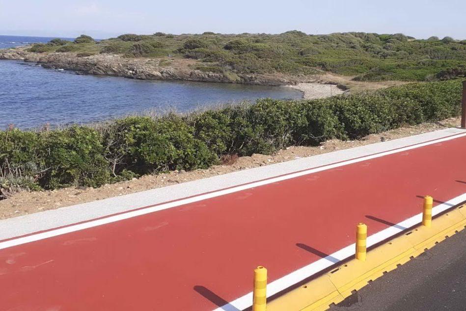 Stintino, completata la ciclabile panoramica che porta alle Tonnare
