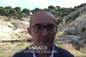 """""""Un bene importante per la città"""", Paolo Truzzu accelera sui lavori all'anfiteatro"""