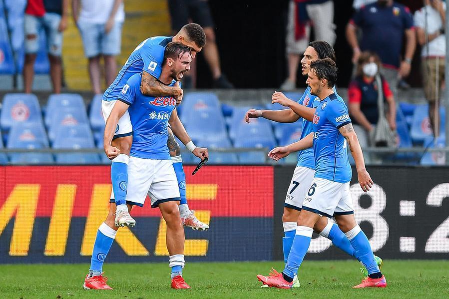 Romani, milanesi e Napolia punteggio pieno. Stop Atalanta, clamoroso ko Juventus