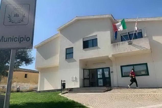 Il municipio di Settimo (L'Unione Sarda - Andrea Serreli)