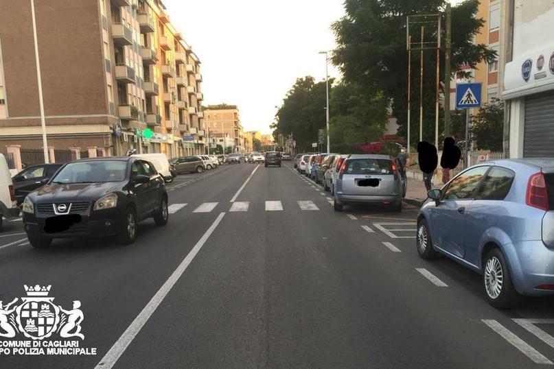 Due tamponamenti a Cagliari, una donna in ospedale