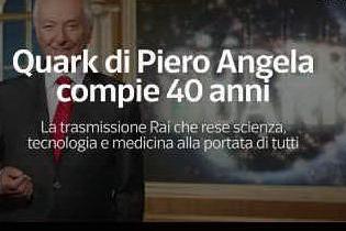 """Quark"" di Piero Angela compie 40 anni"
