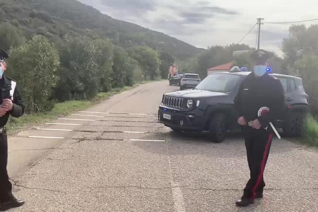 Chef ucciso a Teulada, i rilievi dei carabinieri