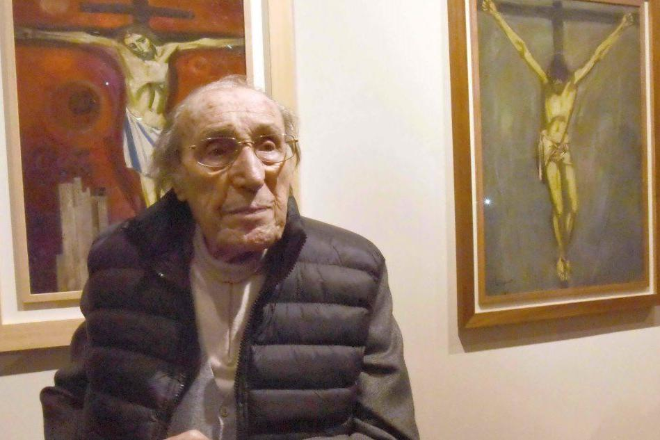 Lutto nel mondo dell'arte: è morto Trento Longaretti, l'artista centenario
