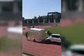 L'impressionante allenamento di Marcell Jacobs: corre a 50km/h