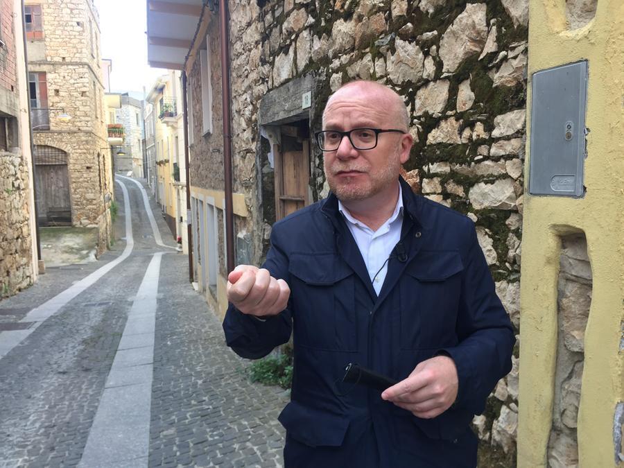 Salvatore Corrias (foto Loi/L'Unione Sarda)