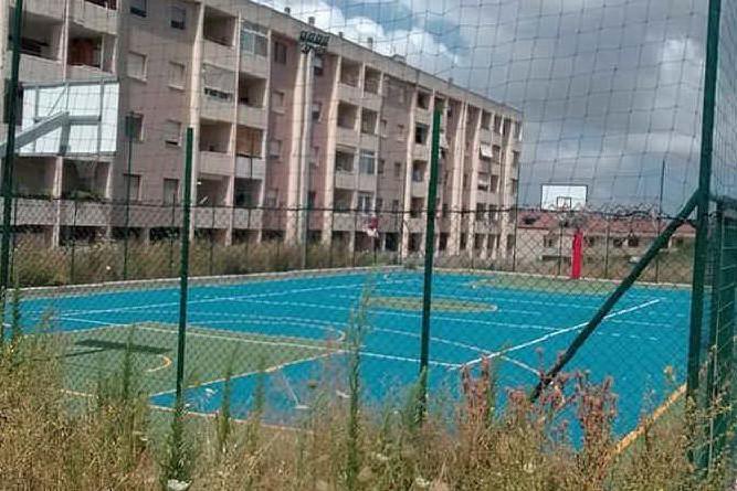 Sassari, campo da basket ultimato da mesi e mai aperto al pubblico