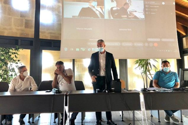 Un momento della conferenza socio sanitaria (foto ufficio stampa)