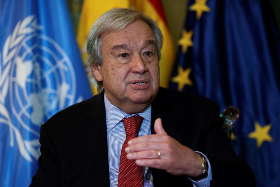 """Onu, il segretario Guterres: """"Dobbiamo mantenere un dialogo coi talebani"""""""