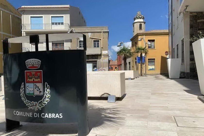 Il Comune di Cabras (foto L'Unione Sarda - Sara Pinna)