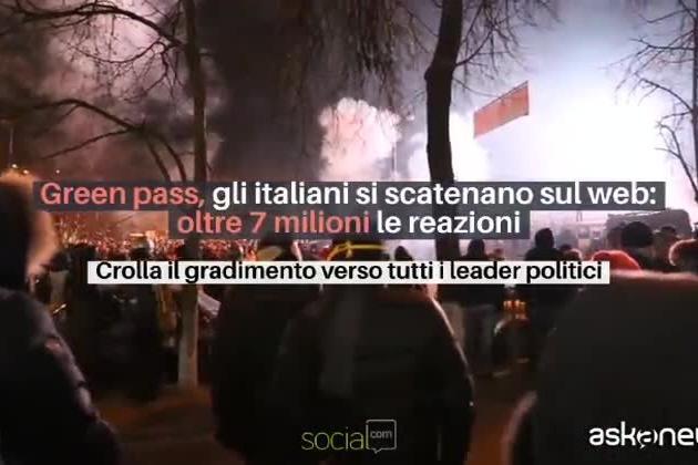 Green Pass, gli italiani si scatenano con i commenti sul web