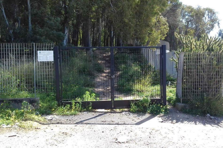 Un ingresso al parco di Rosmarino (L'Unione Sarda - Scano)