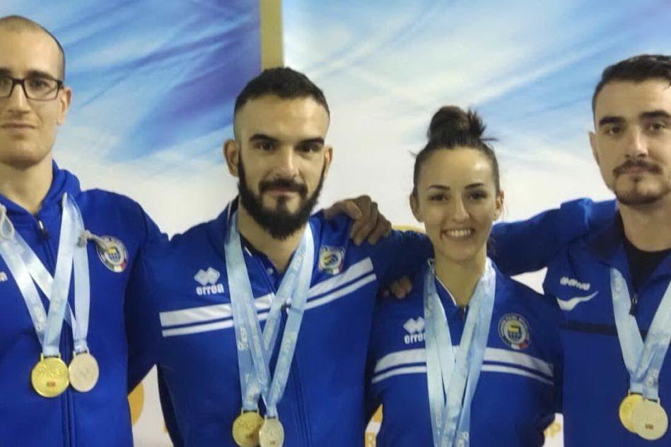 Kettlebell: gli atleti sardi conquistano quattro ori agli europei in Portogallo