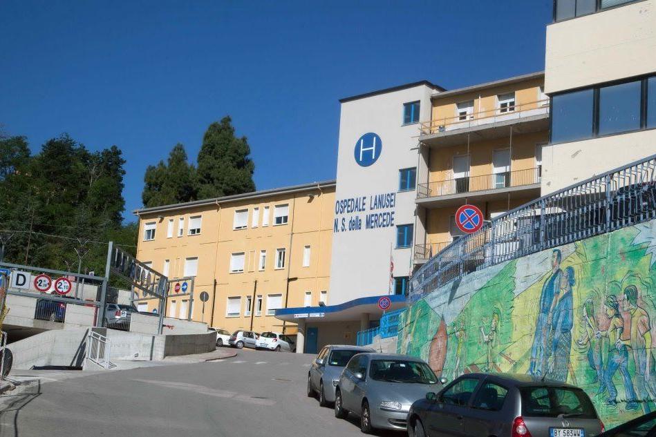 L'ospedale (Archivio L'Unione Sarda - Loi)