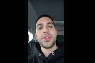 """Non solo Zlatan, anche Mahmood bloccato in autostrada: """"Mai una gioia"""""""