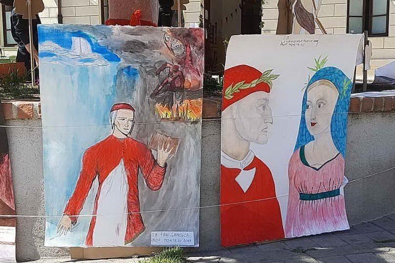 A Oristano gli studenti della scuola di piazza Manno hanno ricordato Dante Alighieri