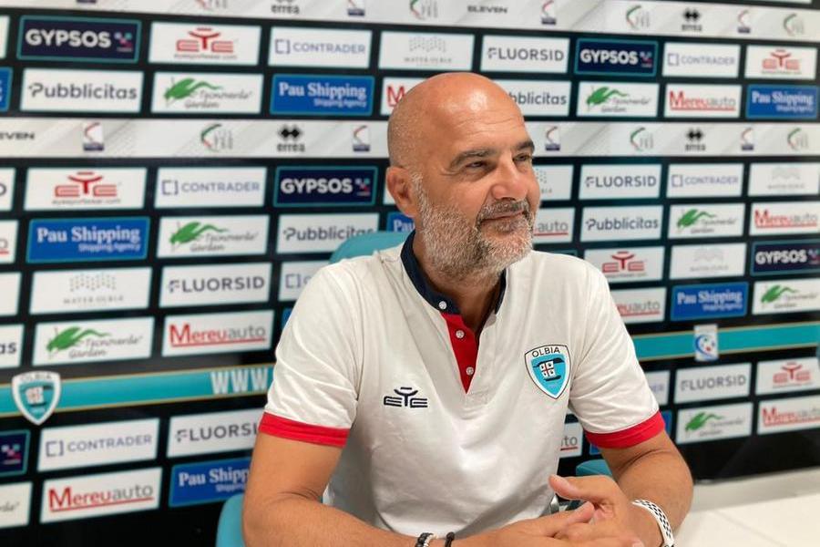 """Olbia in fiducia verso Ancona. Canzi: """"Contro il Matelica attenzione e ritmi alti"""""""